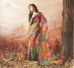 Needlework Sarees