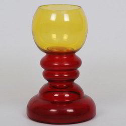 Colored Hurricane Candle Holder