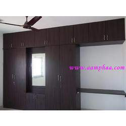 Wardrobe With Dressing Mirror Designs
