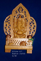sandalwood god statue