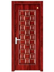 Heavy Carved Wood Doors