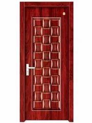Heavy Carved Wood Doors
