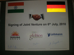 Lohmann Animal Health and Suguna create a Joint Venture in India