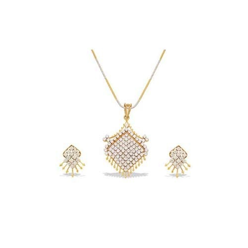 Diamond jewellery set diamond necklace set exporter from jaipur aloadofball Gallery