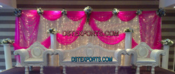 Muslim Shaadi Silver Furniture