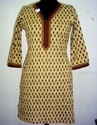 hand block printed kurta