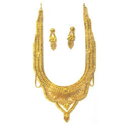 Long Heavy Necklace Set