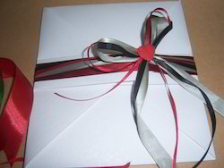 Eco Friendly Handmade Paper Envelopes With Ribbons