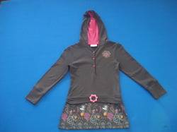 Girls Hooded Top
