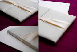 Silk Fabric Covered Folios
