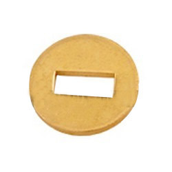 Brass Square Punched Washer