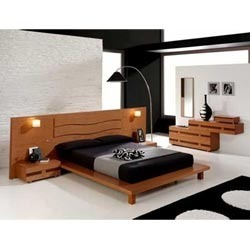 Wooden Bedroom Designing