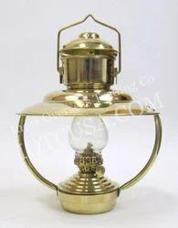 Solid Brass Trawler Lamp