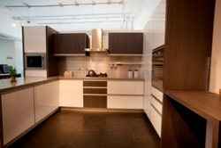 Manufacturer of l shaped luxury kitchen & straight line luxury