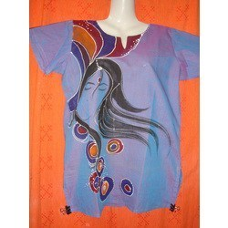 Ladies Designer Painted Kurti