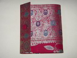 Brocade Fabric Covered Photo Albums