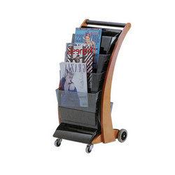Magazine & Newspaper Trolley