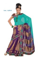 Unstitched Indian Sarees 2010