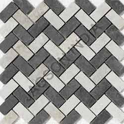 Himachal White Quartzite Mosaic Tile