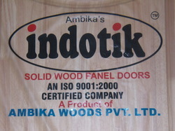 Indotik Wood Panel Doors