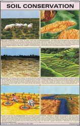 Soil Conservation for Man & Environment Chart