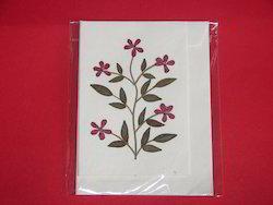 Custom Made Dried Flower Greeting Cards
