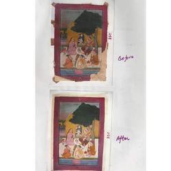 Miniature Painting Conservation Service