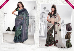 Hand Work Indian Sarees
