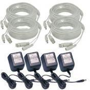 Coax Cable And Power Supply Bundle