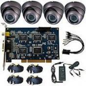 4 Port Dvr Card & Cemera