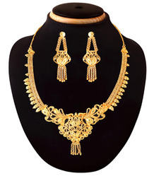 1 Gram Gold Plated Indian Costume Designer