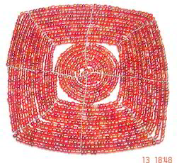 Beaded Coaster CO112