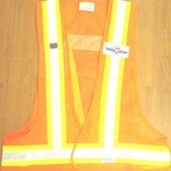 Reflective 3 Side Opening High Visibility Safety Jacket
