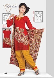 Preyasi Fashion Printed Salwar Kameez Dress Material