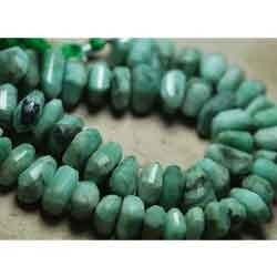 Emerald Faceted Nuggets