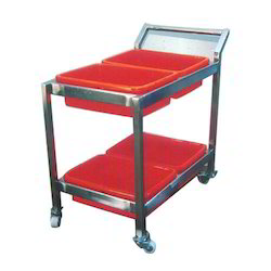 Plate Collection Trolley