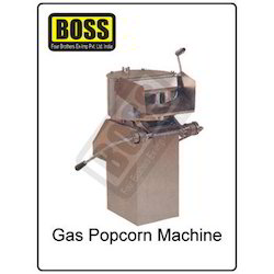 Gas Pop Corn Machine