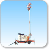 7(9) Meter Telescopic Tilting Type Tower