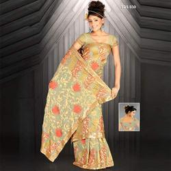 Thread Work Georgette Sarees