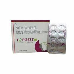Natural Micronized Progesterone 200 Mg Softgel