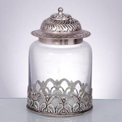 Designer Glass Jars