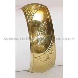 Polished Brass Bangles