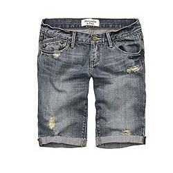 Denim Short Pants