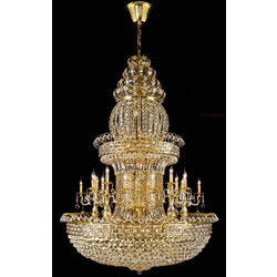 Brass chandeliers brass modern chandelier manufacturer from new delhi brass modern chandelier aloadofball Gallery