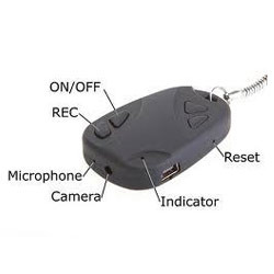 Spy Keychain Camera