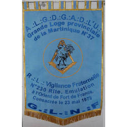 Embroidered Large Banners