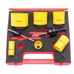 constant pitch bi metal hss holesaw kit
