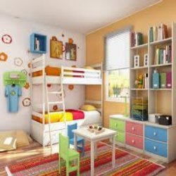 Children Room Interior Decoration