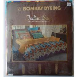 Indian Saga (Bombay Dyeing Bed Sheets )