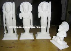 Alabaster God Statues (Ram Darbar)